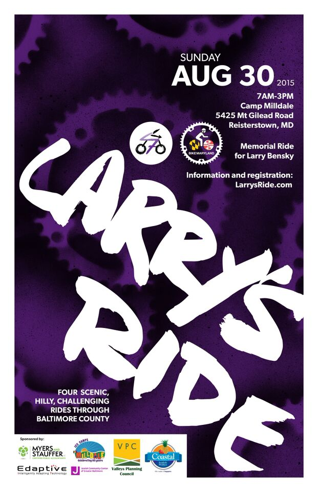 2015 Larry's Ride Poster
