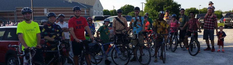 The first Westminster Bike Party!