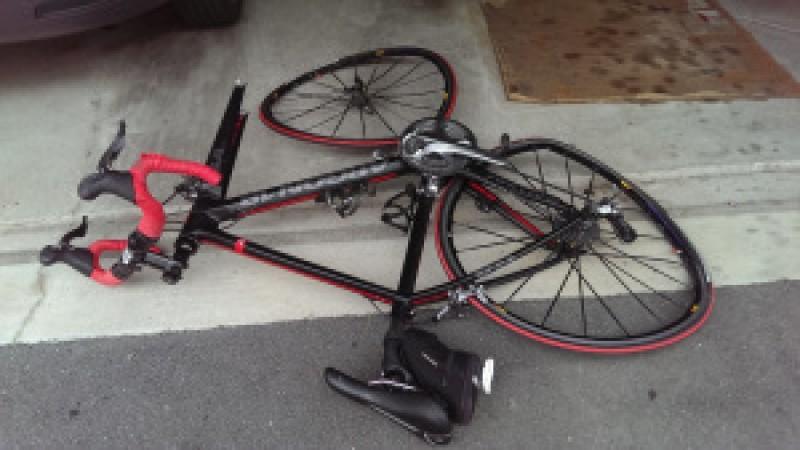 Kurt Zwally's bicycle.  Photo Credit: Kurt Zwally
